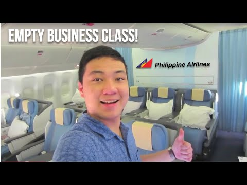 (2/2) PHILIPPINE AIRLINES - MABUHAY BUSINESS CLASS | VANCOUVER TO MANILA - BOEING 777 | FLIGHT VLOG