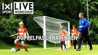 Doppelpass Training FUSSBALL Trainingseinheit mit Ingo Anderbrügge (Ausschnitt)