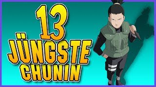 Die 13 Jüngsten Chunin in Naruto Shippuuden! - SerienReviewer