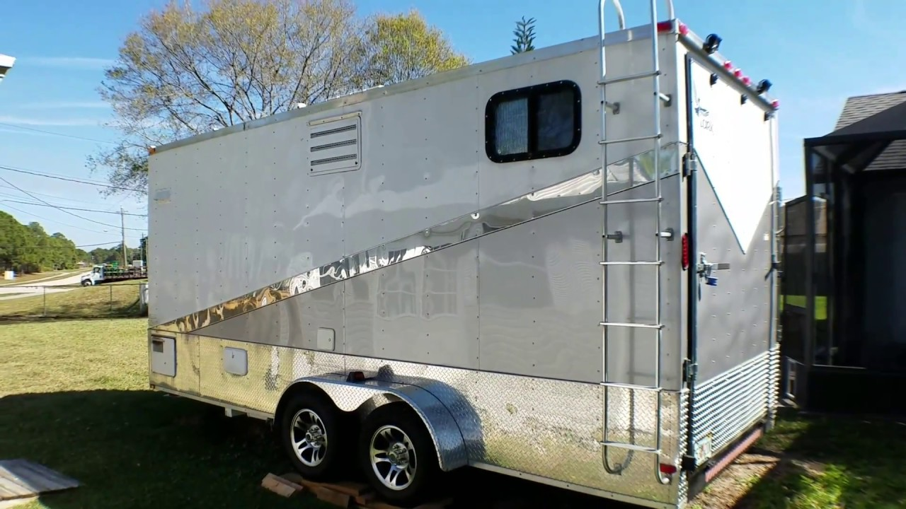 Cargo Trailer Conversion Toy Hauler Exterior