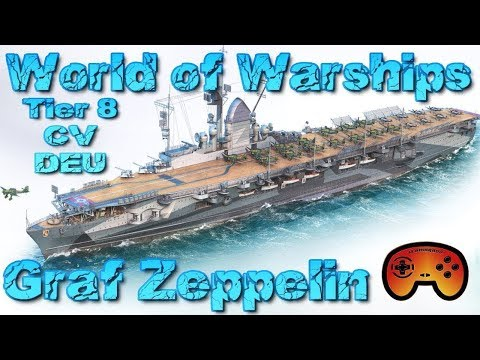 Graf Zeppelin mit AP 1/2 Preview - World of Warships - Deuts
