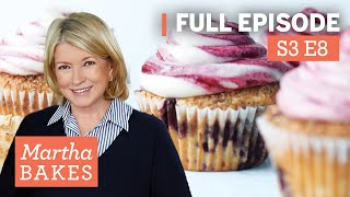 Martha Stewart Makes Cupcakes 4 Ways | Martha Bakes Classic Episodes