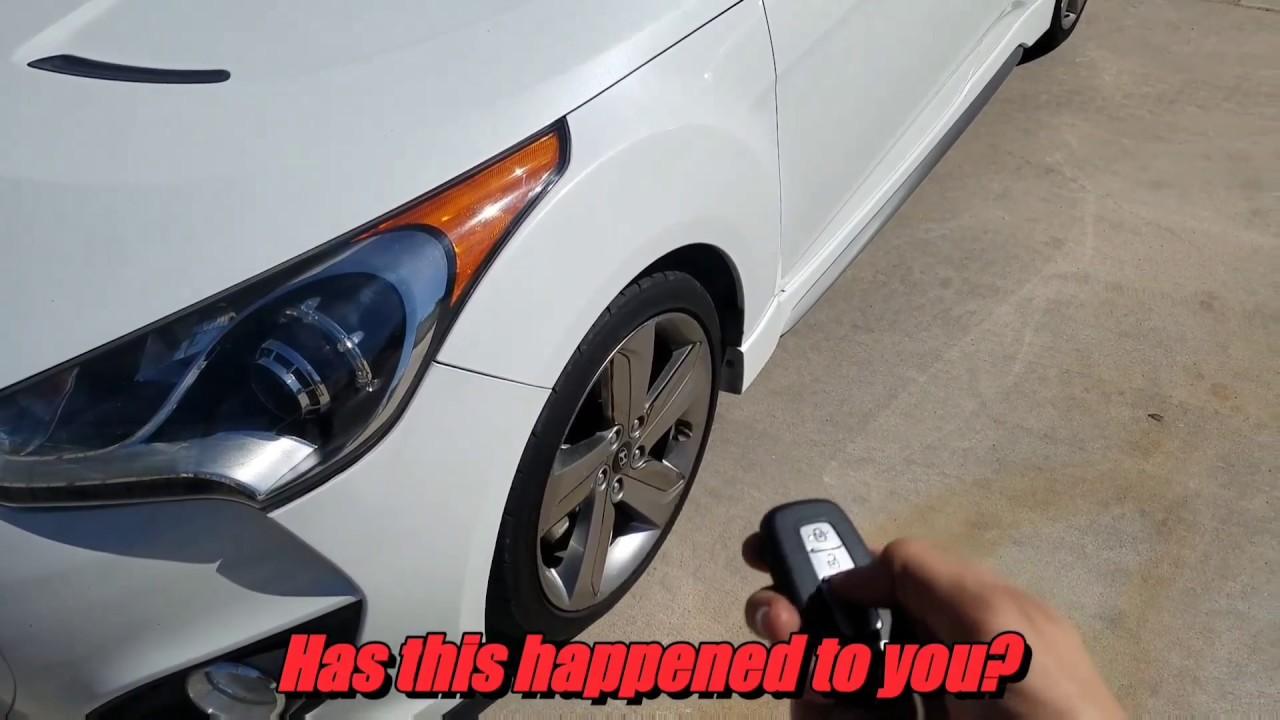 Hyundai Veloster Turbo Key Fob Not Working Easy Fix Youtube