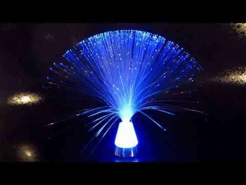 Crystal Base Fiber Optic Lamps - Glowproducts.com