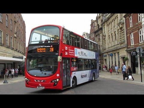 Buses & Trains around Norfolk Suffolk & The Fens Spring 2017