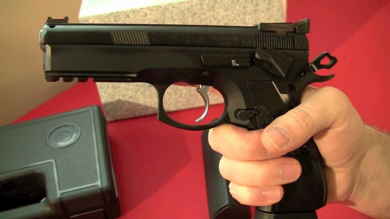 de00f9e76 Zbrane na CO2 | Vzduchová pištoľ CZ-75 SP-01 CO2 Shadow | Plynové zbrane  pištole flobertky revolvery vzduchovky flobert