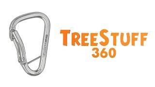 Grivel S1G Twin Gate Carabiner - TreeStuff.com 360 View