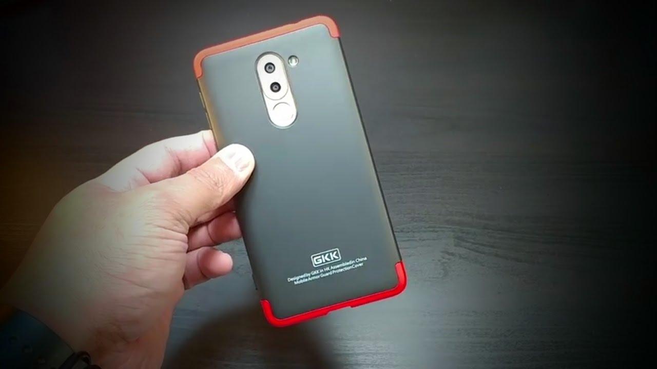 best website 0c8d9 5abb6 Huawei Honor 6X Red Black Ultra Slim Knight Series case by GKK