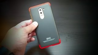 Huawei Honor 6X Red Black Ultra Slim Knight Series case by GKK
