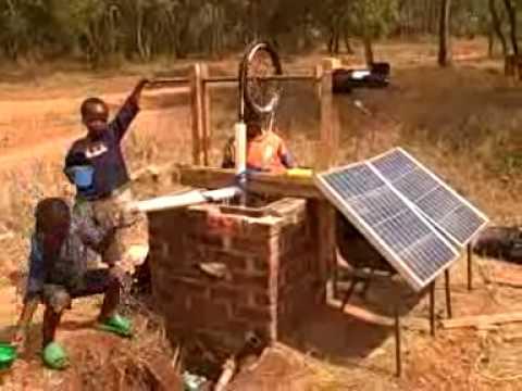 Solar Rope Pump, Malawi, Blog 4. WATER!!!