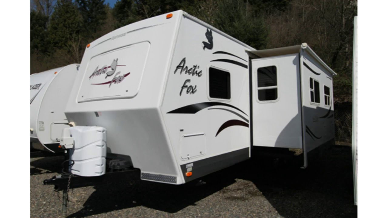 Used 2008 Northwood Arctic Fox 27f Travel Trailer For Sale