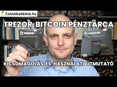 trezor pénztárca bitcoin)