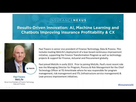 AI, Machine Learning and Chatbots Improving Insurance Profitability & CX