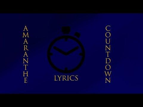 Amaranthe - Countdown - Lyrics