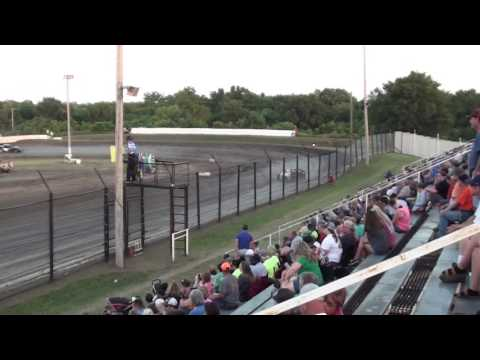 Caleb Edwards Heat Race Caney Valley Speedway 6/10/17