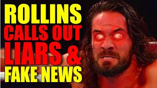 A P*SSED OFF Seth Rollins Calls Out LIARS & HATERS! Big Superstar Re-Signs With WWE! Wrestling News