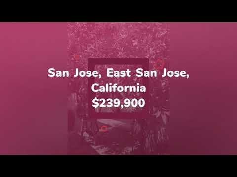 House for sale in San Jose, East San Jose, $239,900