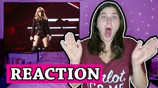 I Did Something Bad  - Taylor Swift LIVE AMA's Performance |REACTION