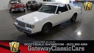 1987 Buick Regal Limited, Gateway Classic Cars Scottsdale #322