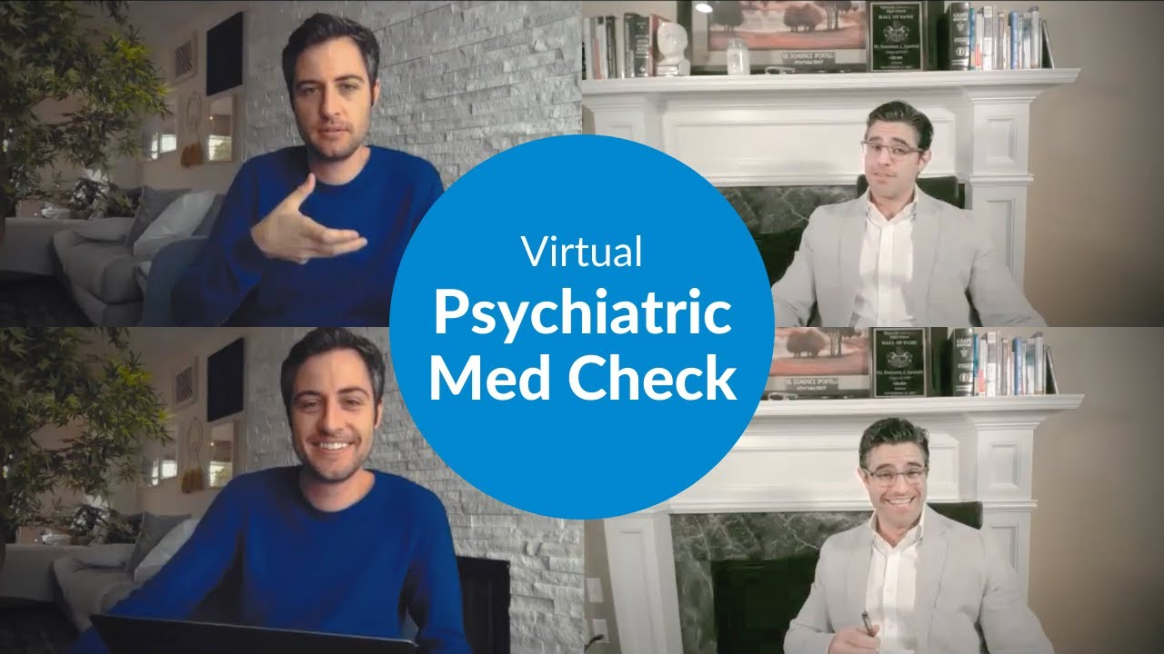 Live Psychiatric Med Check with a Psychiatrist [WITH ME Series Part 4]