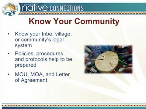 Native Connections Approach Series - Part 4: Promoting Coordination through Standards of Care