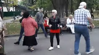 Киевлянка!!!Народные танцы.сад Шевченко,Харьков!!!Октябрь 2020.