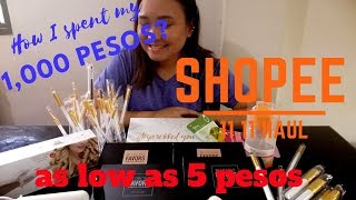 Shopee Haul Part 2 | Shopee Philippines | Makeup Palettes, Brushes, etc