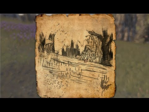 Stonefalls Treasure Map V Location Elder Scrolls Online
