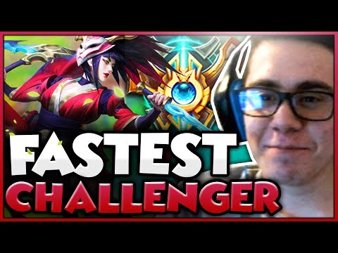 TFBlade | FASTEST UNRANKED TO CHALLENGER PLAYER!!!!!