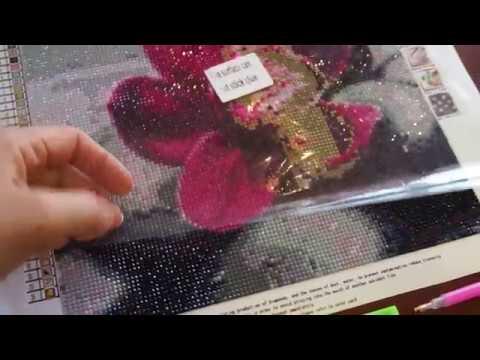 Алмазная вышивка из Китая. Aliexpress. Готовые работы алмазной мозаики