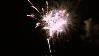 Feuerwerk Seebrückenfest Ostseebad Göhren 2014 ( Insel Rügen)