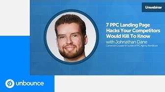 Webinar with Johnathan Dane | Building Effective PPC Landing Pages That Convert