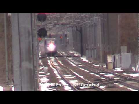 Thumbnail: 150MPH Acela Express & Other Fast Amtrak Trains in Mansfield, MA