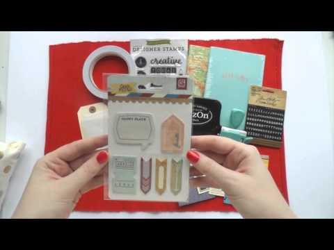 12 Days of Christmas Presents ~ DAY 3 ~ DIY Travel Journal Kit