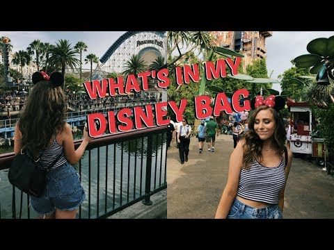 What's In My Disney Bag | Amusement Park Essentials | Travel Series Ep. 6