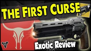 Destiny: The First Curse Exotic Hand-Cannon Review! | THE FIRST CURSE PVP GAMEPLAY