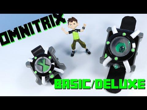 Ben 10 Reboot 2017 Basic & Deluxe Omnitrix Playmates Toys