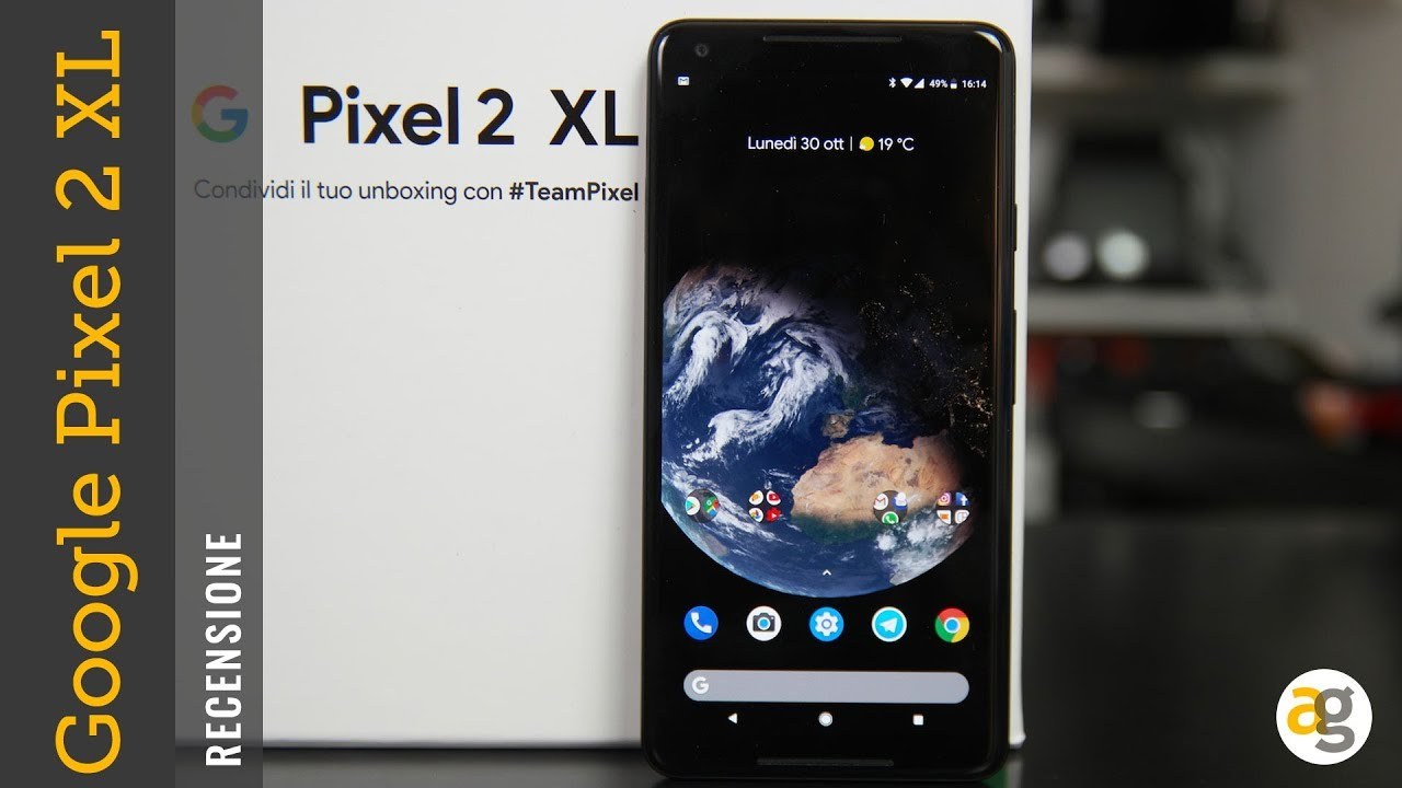 Recensione Pixel 2 Xl Con Assistente Google In Italiano