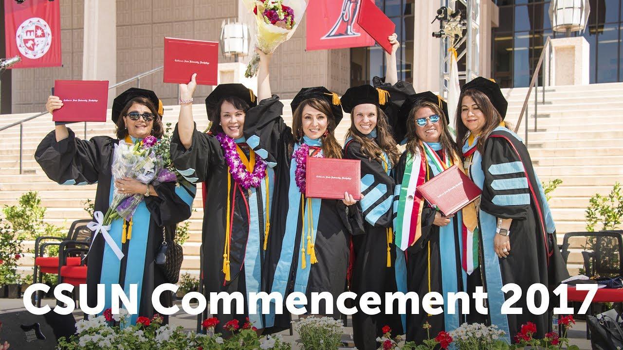 CSUN Commencement 2017: Education and Social & Behavioral ...