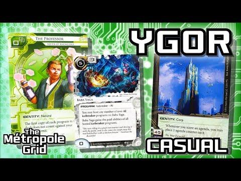 Android: Netrunner // Ygor Professor vs. Titan Transnational - Casual