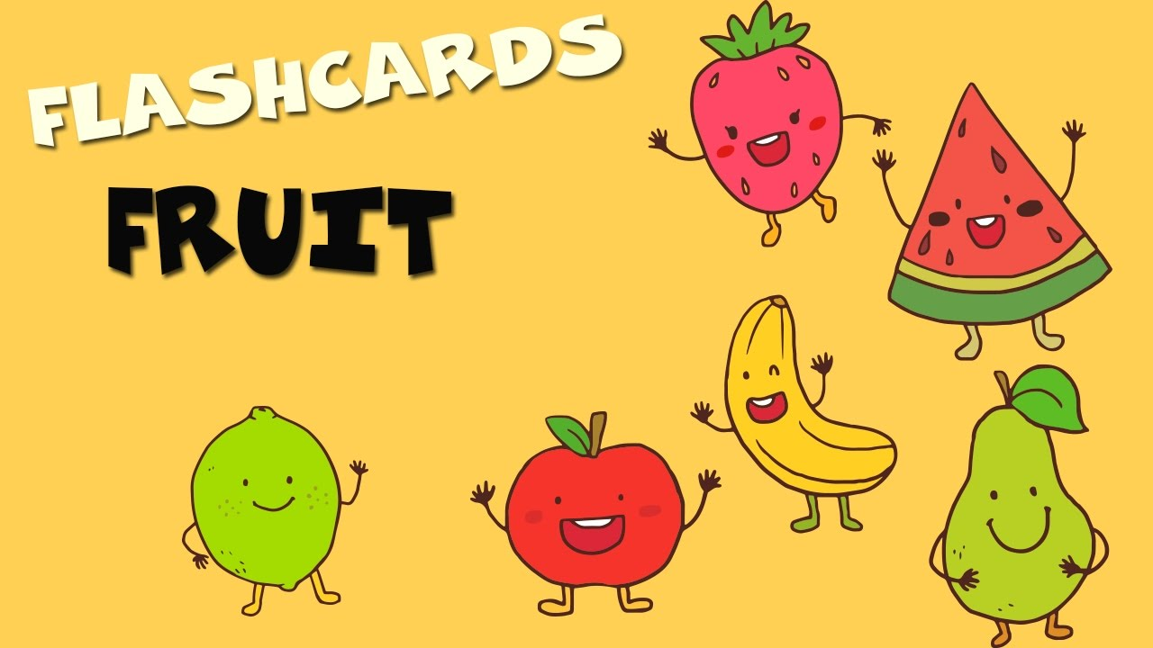 Las Frutas En Inglés Para Niños Vídeos Educativos Para Niños