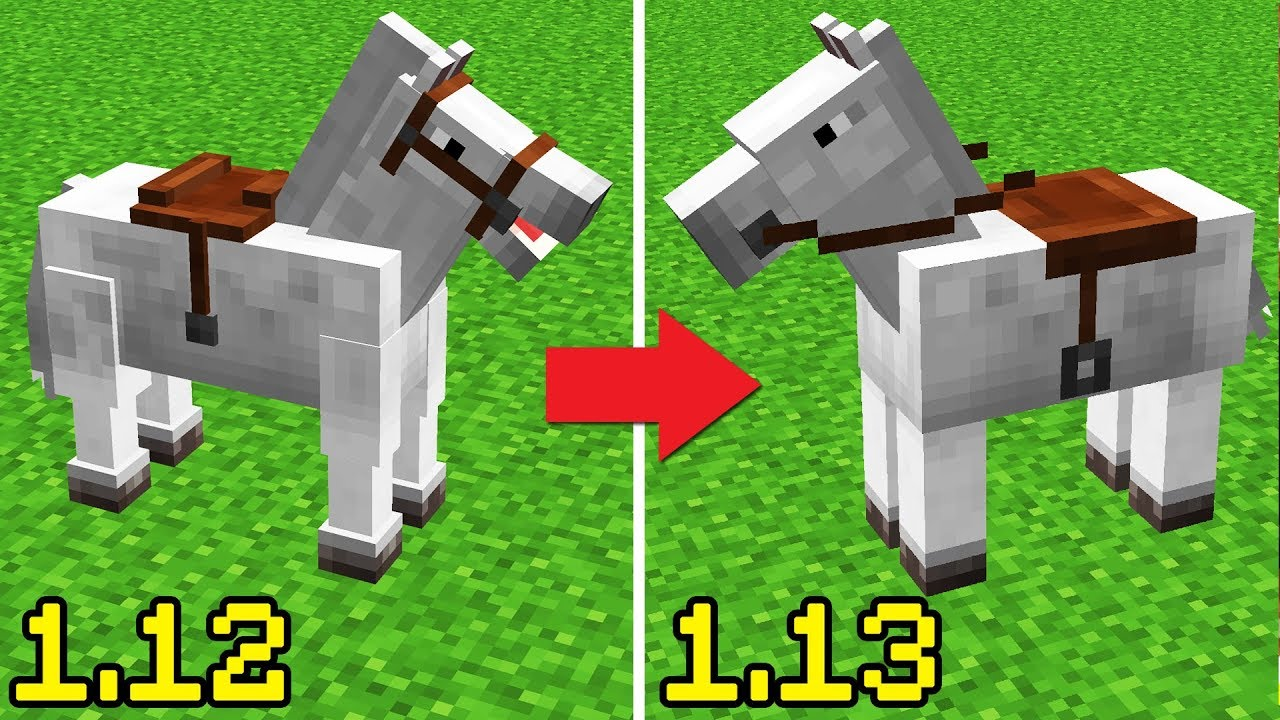 They Changed Minecraft Horses Youtube