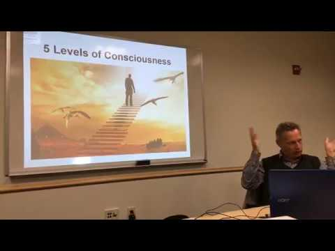 2018-04-09 - Five levels of consciousness  - five levels of