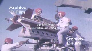 DiFilm - Lanzamiento del cohete Castor IIAE de diseño argentino 1973