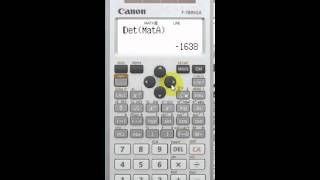 Why I choose Canon F-789SGA scientific Calculator(In this video, I will explain to you why I choose Canon F-789SGA scientific calculator to recommend to my students. Those who want to have the copy of this ..., 2013-09-27T12:54:33.000Z)