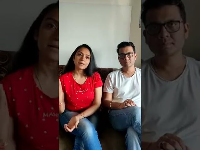 Parent's Testimonial - Anjana Betala & Ramesh Bafna