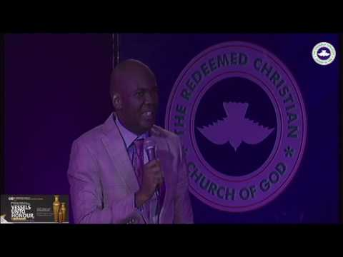 PASTOR ADEMOLA ADELOYE SERMON - RCCG 2016 YOUTH CONVENTION VESSELS UNTO HONOUR