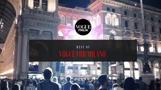 Vogue for Milano 2018: best of | Events | Vogue Italia