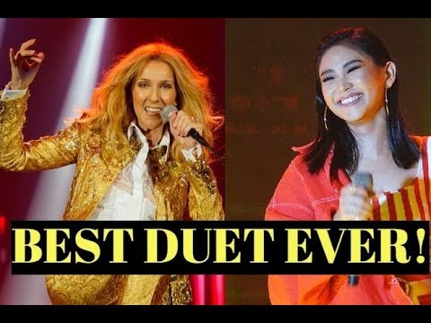 Celine Dion guests Sarah Geronimo in her Philippine Concert? l F5 - Bb6 WHISTLE NOTES