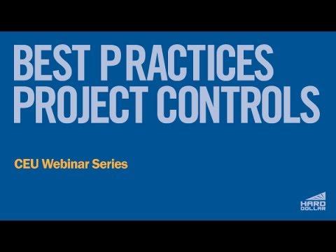 CEU Webinar: Best Practices for Project Controls